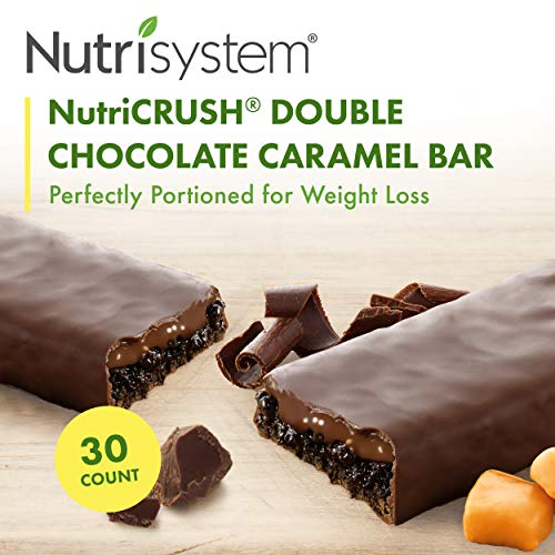 Nutrisystem® NutriCRUSH® Double Chocolate Caramel Bars, 30 ct. (Nutrisystem D 7 Day Weight Loss Kit)