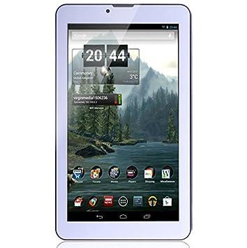 G de Anica 17.8 cm (7 Pulgadas) Tablet PC - Phablet Smartphone sin Contrato (Android 4.4, Dual Core, 1024 x 600, WiFi, Dual SIM, Bluetooth, 1GB RAM, 8 GB), 3D Parte de - Color Blanco: Amazon.es: Informática