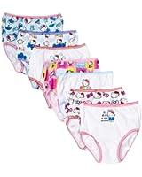 Handcraft Little Girls'  Hello Kitty  Underwear (Pack of 7)