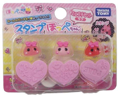 Mini Petit Love stamp set cheek-chan (japan import)