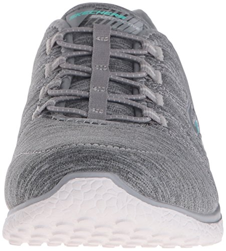 Skechers Microburst Slip Shoes The Gris Edge Womens On OvxqfwORPz