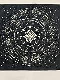 Hippolya Altar Tarot Card Cloth Washable Tablecloth