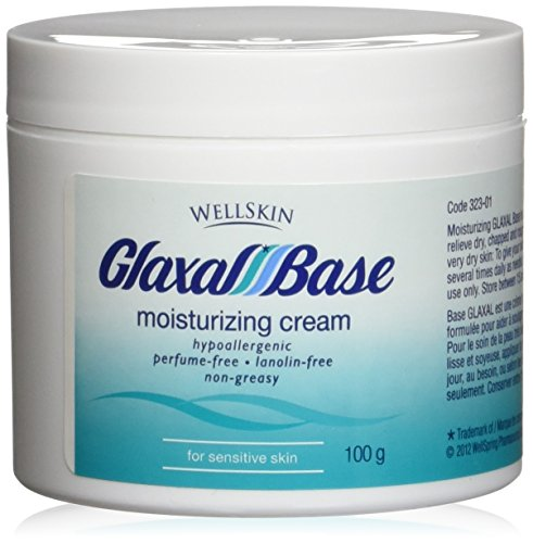 - GLAXAL Base MOISTURIZING CREAM Relief for Dry, Chapped, Rough Skin 100 g (3.5 oz) by WellSkin