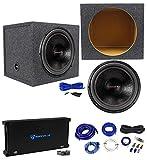 American Bass HD15D1 HD 15' 4000w Subwoofer+Amplifier+Sealed Sub Box Enclosure