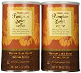Trader Joes Pumpkin Spice Coffee, 14 Oz (Pack of 2)