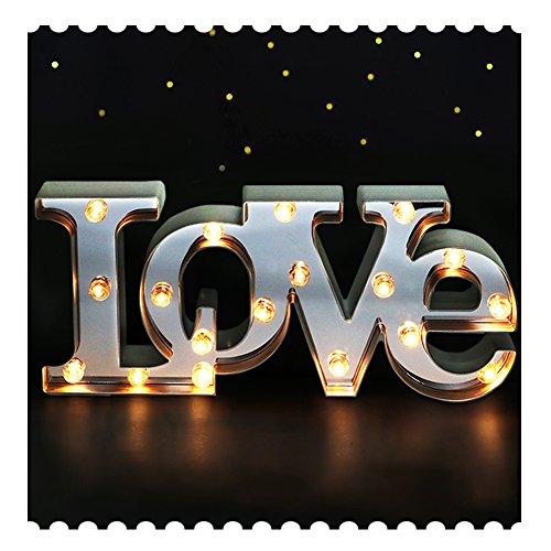 Tall Large LED - LED Wall Decorations - Love Wall Art