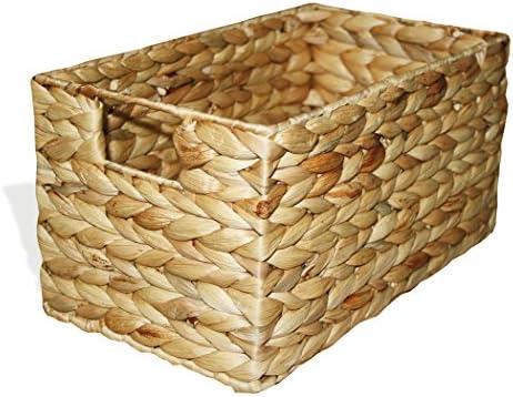 Aufbewahrungskorb Schrankkorb Regalkorb Korb Geschenkbox Wasserhyazinthe 038 N m