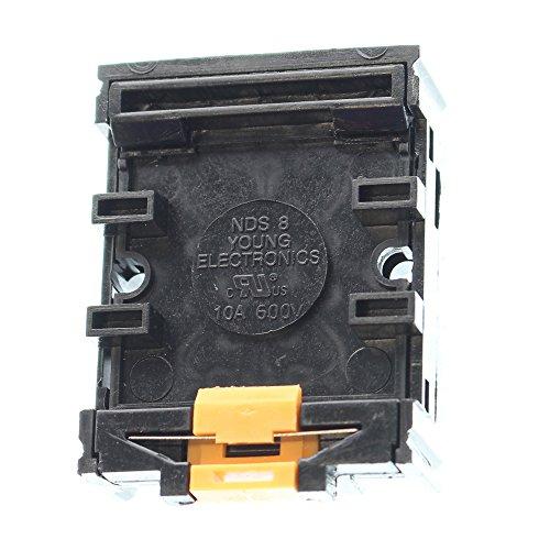 - SELECTA SR67083A-BG Socket Relay 8 PIN OCTAL Receptacle