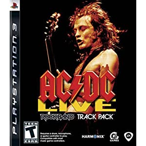 AC/DC Live: Rock Band Track Pack – Playstation 3