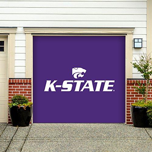 Victory Corps 7' X 8' Single Garage Door Decor Banner Sign Mural Kansas State Wildcats