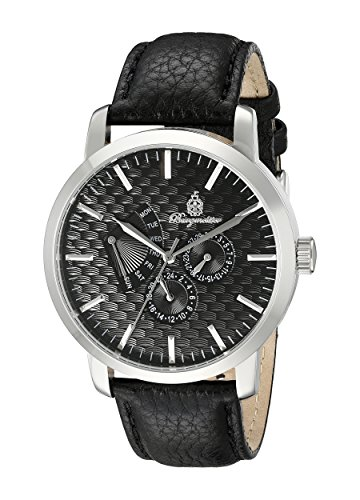Burgmeister Men's BM219-122 Analog Display Quartz Black Watch