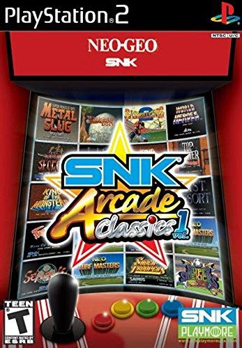 SNK Arcade Classics Vol 1 - PlayStation 2 - Metal Slug Playstation 2