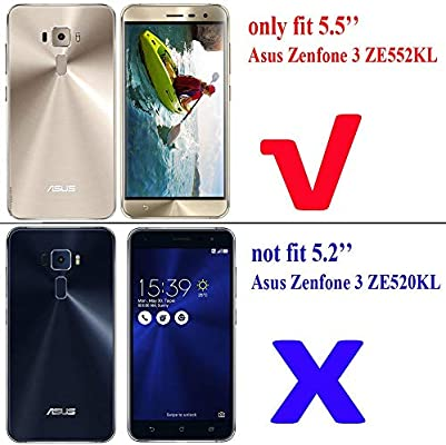 Compatible con ASUS Zenfone 3 (ZE552KL) Protectores de Pantalla ...