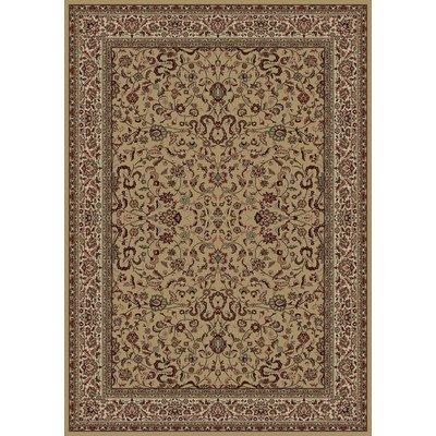 - Oriental Classics Kashan Gold Rug Rug Size: 2'7