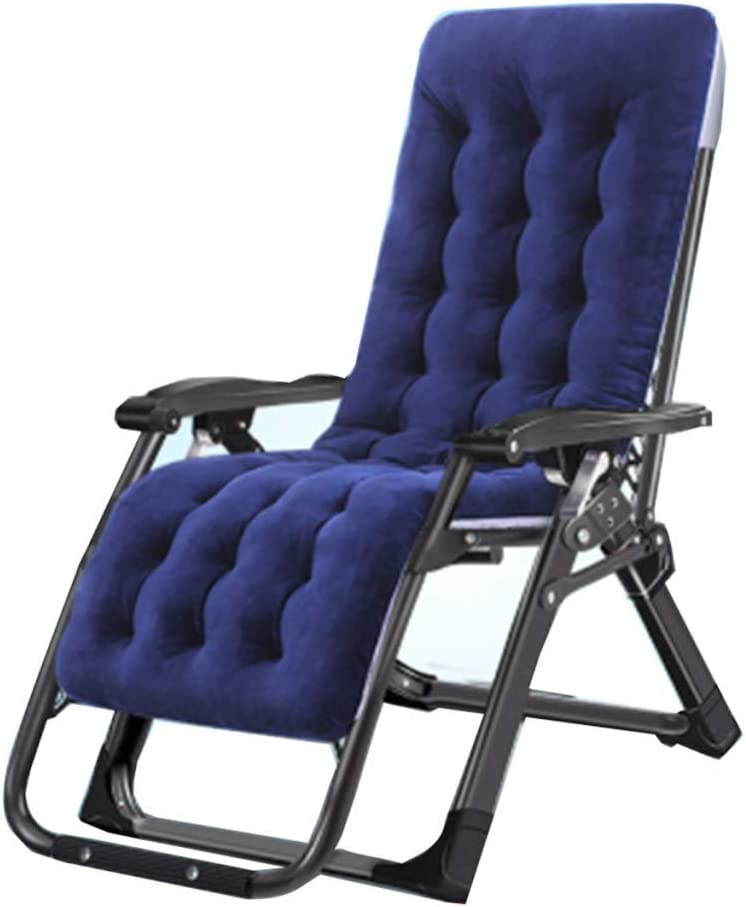 BYCDD Zero Gravity Lounge Chair Outdoor, for Deck Patio Beach Yard Adjustable Lightweight Portable Folding Recliner Support 360 lbs (Gift: Mat),Black 51bJS2BYejFLSL1024_