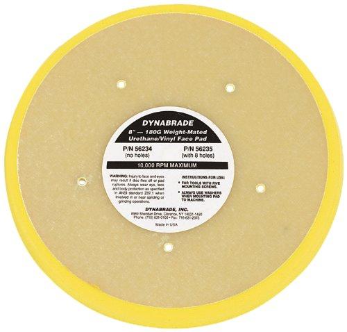 Dynabrade 56234 Non-Vacuum Disc Pad, 8-Inch Diameter