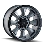 Dirty Life Matte Gunmetal/Black Beadlock Wheel with Painted Finish (18x9''/5x139.7mm)