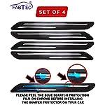 FABTEC Rubber Car Bumper Protector Guard