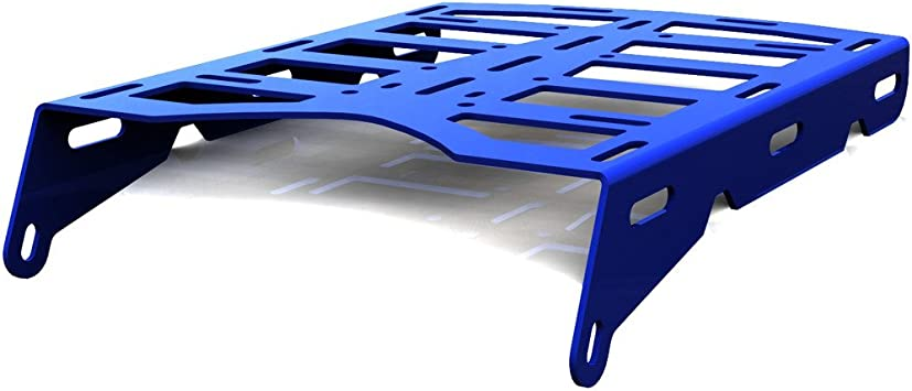 Pro Braking PBF9154-TBL-BLU Front Braided Brake Line Transparent Blue Hose /& Stainless Blue Banjos