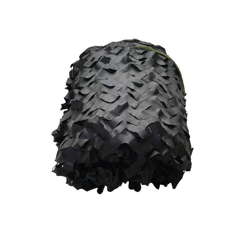 ブラックモード迷彩ネットテント布サンシェード適しガーデン装飾写真マルチサイズオプション (サイズ さいず : 3*8m) 3*8m  B07PS65T5N