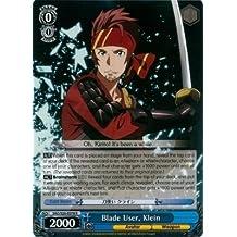 Weiss Schwarz - Blade User, Klein - SAO/S20-E078 - R (SAO/S20-E078) - Sword Art Online Booster