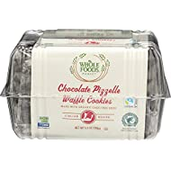 Whole Foods Market Chocolate Pizzelle Waffle Cookies, 5.3 oz