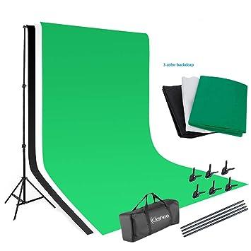 Amazon.com: YYAO - Kit de soporte para telón de fondo para ...