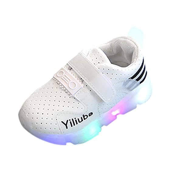 JiaMeng LED Zapatos Zapatillas Deportivas para niños Toddler Kids Zapatillas de Deporte para niños Zapatillas de Deporte para niños Zapatillas Luminous LED ...