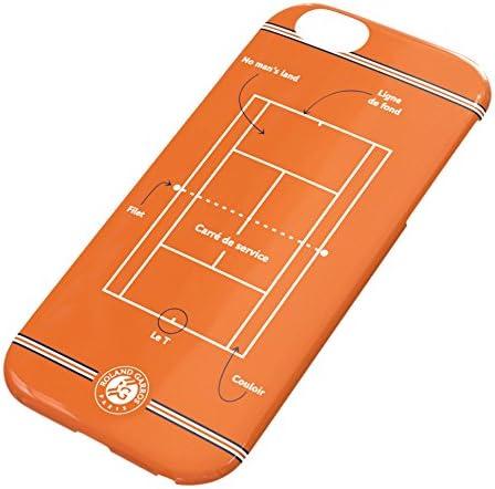 Roland-Garros Coque de iPhone 6 avec dessin du court - Orange ...