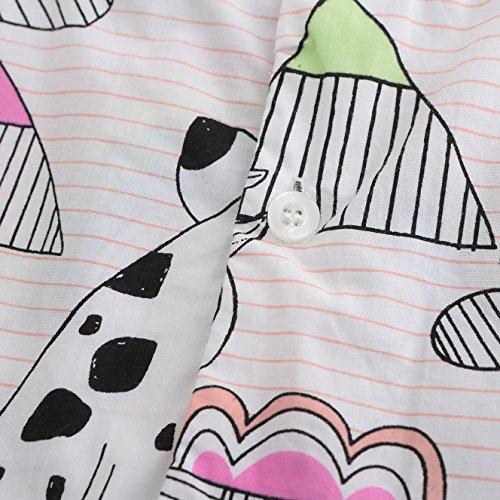 HowJoJo Girls Sleeveless Dresses Cute Cartoon Summer Skirt Dress 4T by HowJoJo (Image #5)