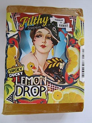 Filthy Bohemian BAR SOAP Lucky Ducky Lemon Drop Jojoba Lemon by Filthy Farmgirl ()