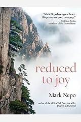 Reduced to Joy Paperback