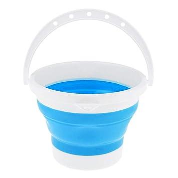 viele Farbe Auswahl IPOTCH Faltbar Waschbecken Wassereimer Outdoor Faltsch/üssel Waschsch/üssel
