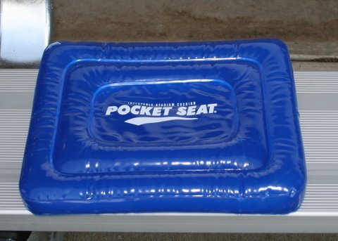 POCKETSEAT Inflatable Travel Cushion 13x10x1.5