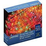 The Christmas Workshop 10 m LED Rope Chaser Lights, Multi-Coloured