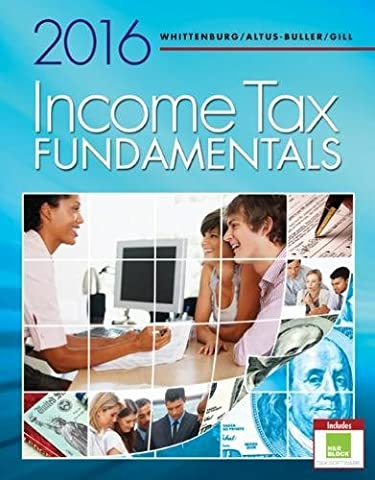 Income Tax Fundamentals 2016 (with H&R Block™ Premium & Business Access Code) (Business Taxes Software)