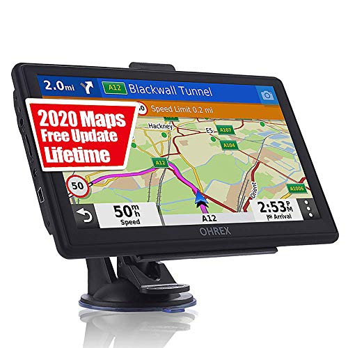 Why Should You Buy GPS Navigation for Car Truck RV, 7 Inch Touch Screen Vehicle GPS, Free Lifetime M...