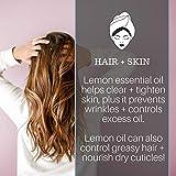 Pure Body Naturals Lemon Essential Oil, 1 Fluid