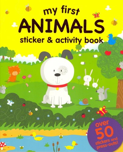 My First: Animals (Sticker and Activity Book) pdf