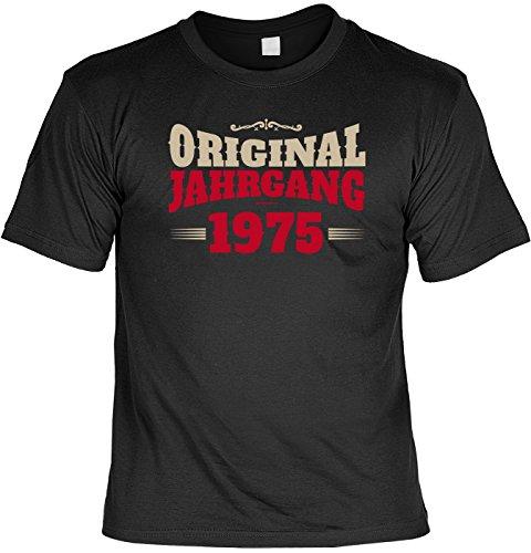 T-Shirt - Original Jahrgang 1975 - lustiges Sprüche Shirt ideal als Geschenk zum 42. Geburtstag