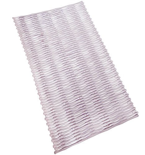 Tushies & Toes 854743005095 Rattan Bath Mat Long, Clear -