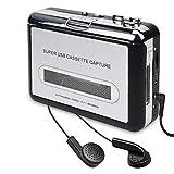 Cassette Player, Cassette Tape to MP3 CD Converter Via USB, Convert Walkman Tape