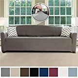 Best Couch Slipcovers - Sofa Shield Original Fitted 1 Piece Sofa Slipcover Review