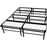 Epic Furnishings DuraBed Steel Foundation & Frame-in-One Mattress Support System Foldable Bed Frame, Queen-size