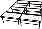 DuraBed Steel Foundation & Frame-in-One Mattress Support System Foldable Bed Frame, Queen-size