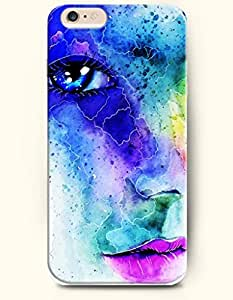 OFFIT iPhone 6 Plus Case 5.5 Inches Blue Sparkling Eye