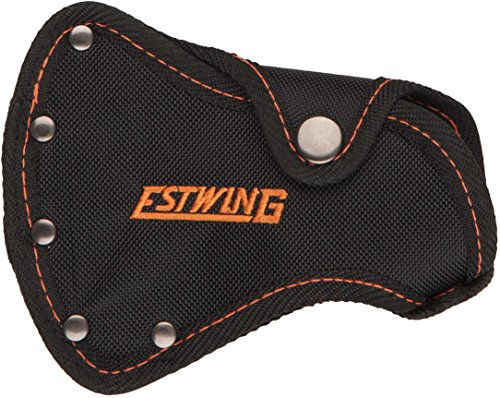 - Estwing no 27 Sportsman's Axe - Camper's Hatchet Sheath - Black with Orange Stitching - Fits E24A & EO-25A