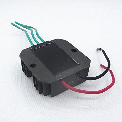 FI-parts HuoPu Wind Turbine Generator Charge Controller Wind Generator Rectifier Portable Wind Charge Controller (Three Phase) (24v 600w) by FI-parts (Image #1)