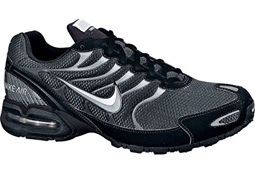 Nike Mens Air Max Torch 4 Running Shoe, Anthracite/Metallic Silver/Black, 8 D(M) US