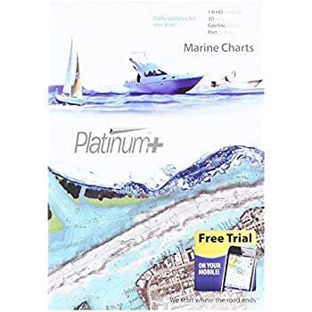 Navionics Platinum+ SD 651 Central Gulf of Mexico Nautical Chart on SD/Micro-SD Card - MSD/651P+